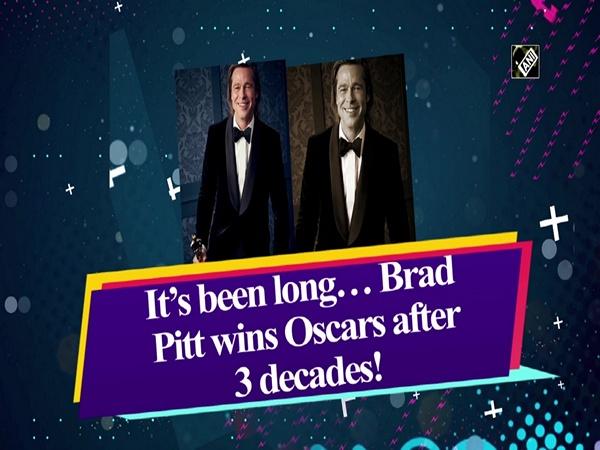 It's been long… Brad Pitt wins Oscars after 3 decades!