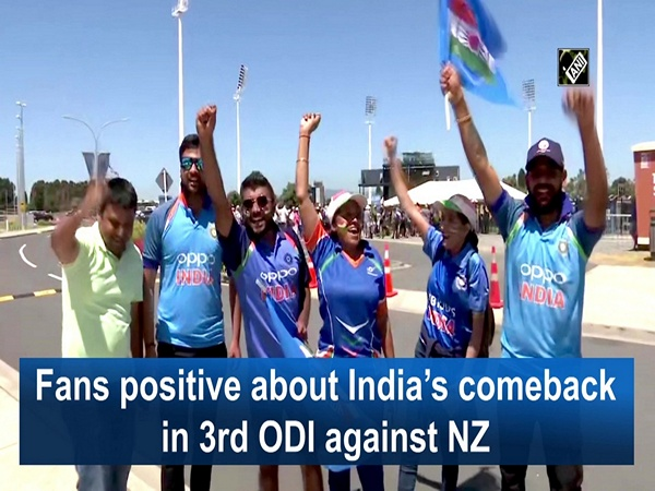 Fans positive about India's comeback in 3rd ODI against NZ