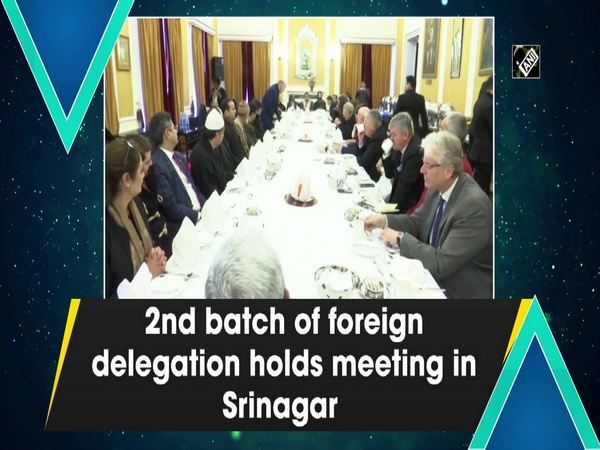 2nd batch of foreign delegation holds meeting in Srinagar