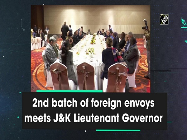 2nd batch of foreign envoys meets JandK Lieutenant Governor