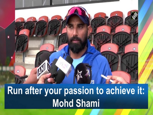 Run after your passion to achieve it: Mohd Shami