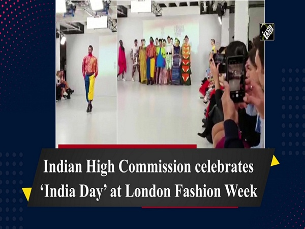 Indian High Commission celebrates 'India Day' at London Fashion Week