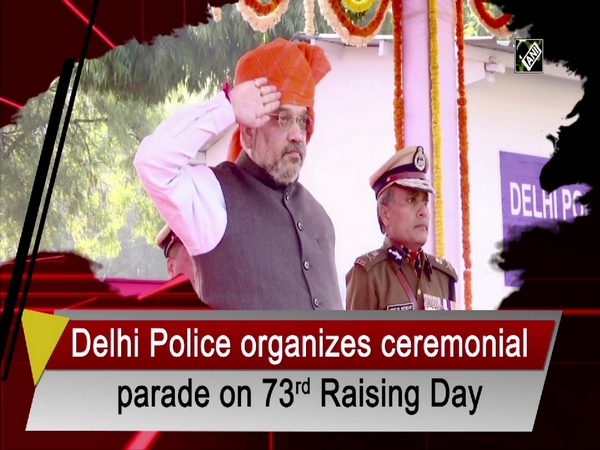 Delhi Police organizes ceremonial parade on 73rd Raising Day