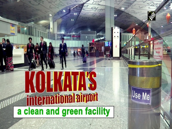 Kolkata's international airport- a clean and green facility