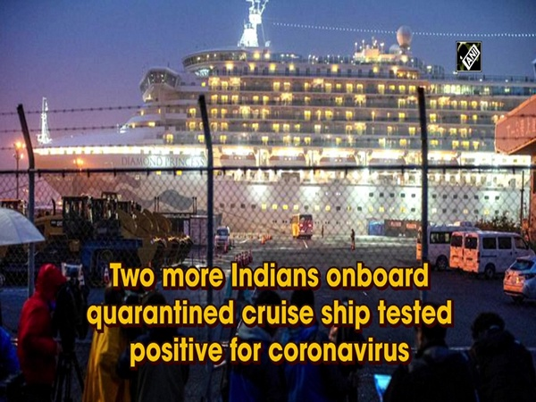 Two more Indians onboard quarantined cruise ship tested positive for coronavirus