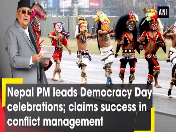 Nepal PM leads Democracy Day celebrations; claims success in conflict management