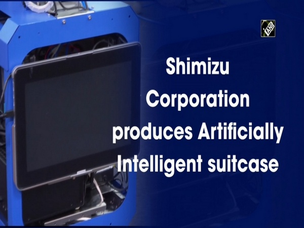 Shimizu Corporation produces Artificially Intelligent suitcase