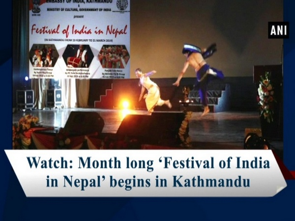 Watch: Month long 'Festival of India in Nepal' begins in Kathmandu