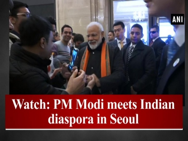 Watch: PM Modi meets Indian diaspora in Seoul