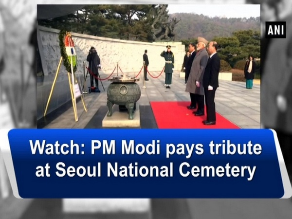 Watch: PM Modi pays tribute at Seoul National Cemetery