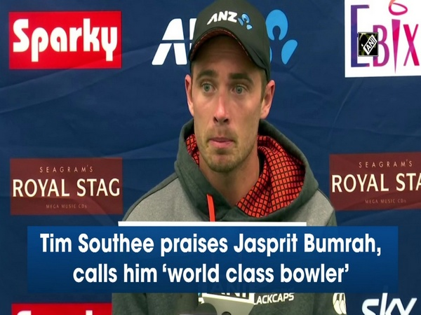 Tim Southee praises Jasprit Bumrah, calls him 'world class bowler'