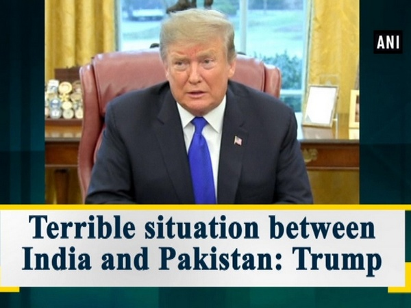 Terrible situation between India and Pakistan: Trump
