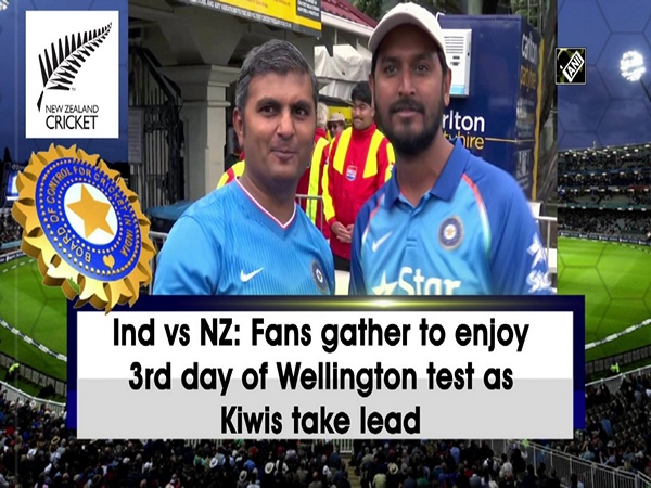 Ind vs NZ: Fans gather to enjoy 3rd day of Wellington test as Kiwis take lead