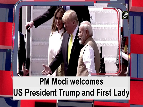 PM Modi welcomes US President and First Lady