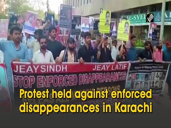 Protest held against enforced disappearances in Karachi
