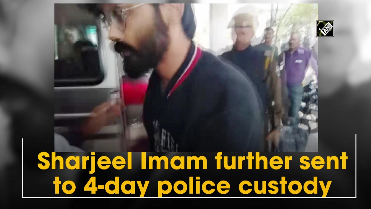 Sharjeel Imam further sent to 4-day police custody