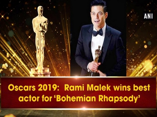 Oscars 2019:  Rami Malek wins best actor for 'Bohemian Rhapsody'