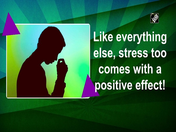 Like everything else, stress too comes with a positive effect!
