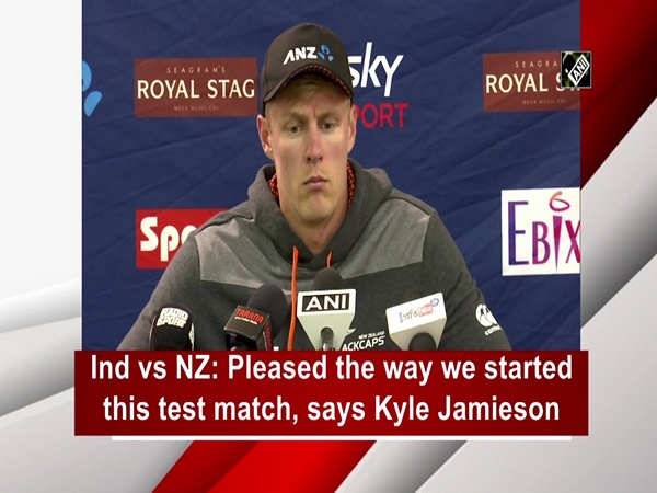 Ind vs NZ: Pleased the way we started this test match, says Kyle Jamieson