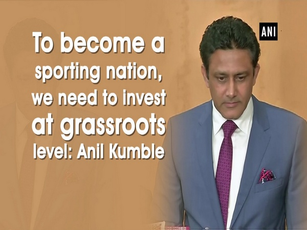 To become a sporting nation, we need to invest at grassroots level: Anil Kumble