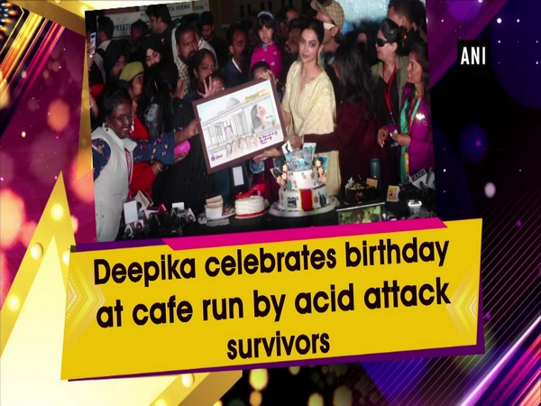 Deepika celebrates birthday at cafe run by acid attack survivors