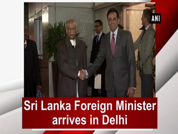 Sri Lanka Foreign Minister arrives in Delhi