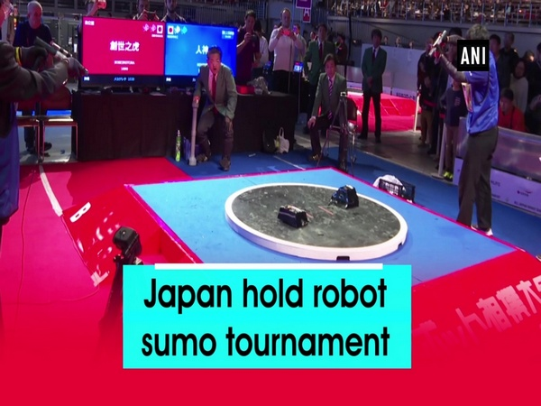 Japan hold robot sumo tournament