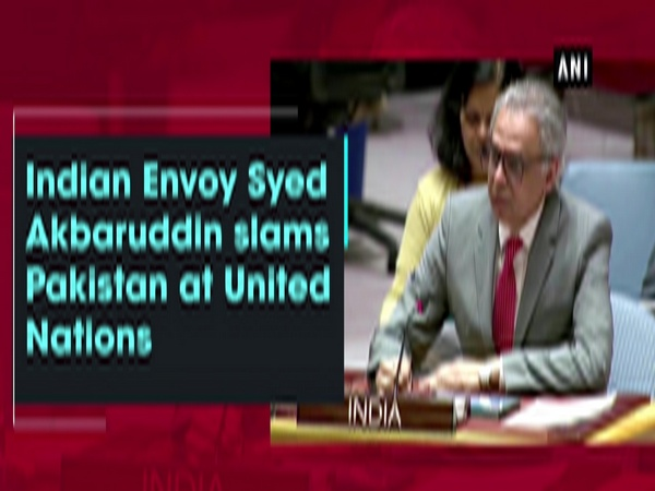 Indian Envoy Syed Akbaruddin slams Pakistan at United Nations