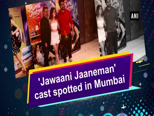 'Jawaani Jaaneman' cast spotted in Mumbai