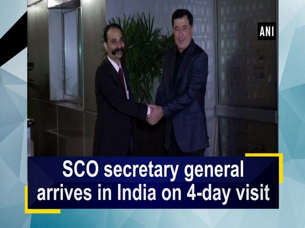 SCO secretary general arrives in India on 4-day visit
