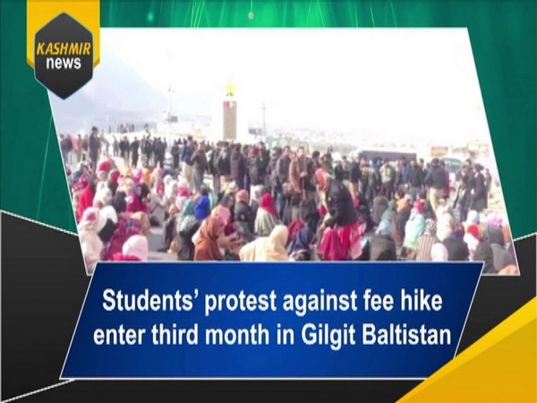 Students' protest against fee hike enter third month in Gilgit Baltistan