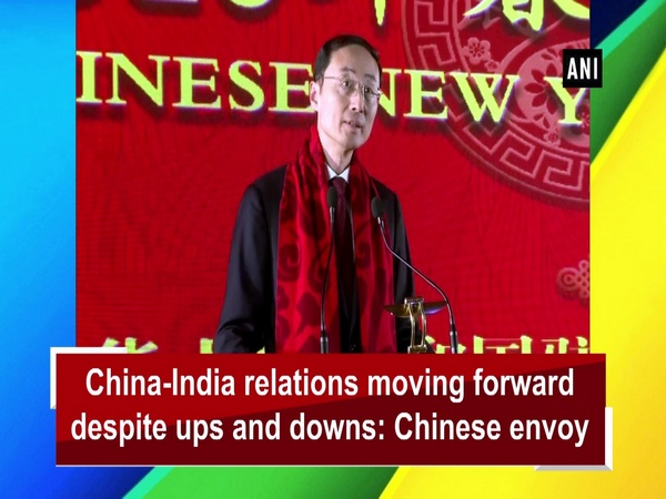 China-India relations moving forward despite ups and downs: Chinese envoy