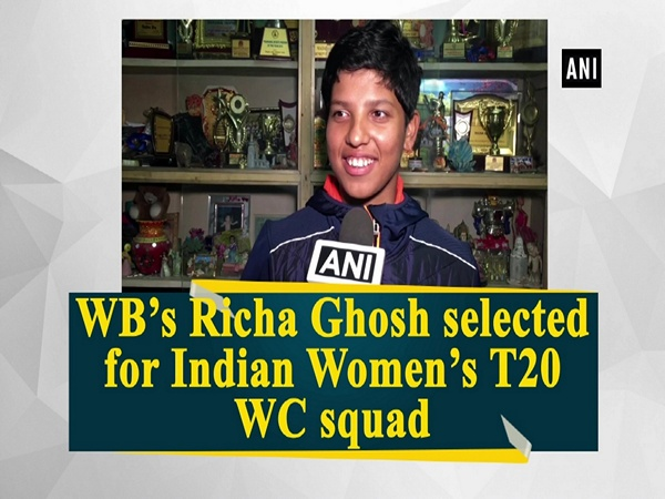 WB's Richa Ghosh selected for Indian Women's T20 WC squad