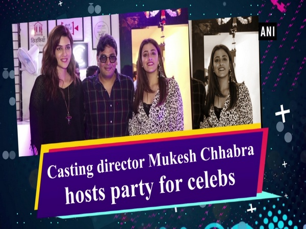 Casting director Mukesh Chhabra hosts party for celebs