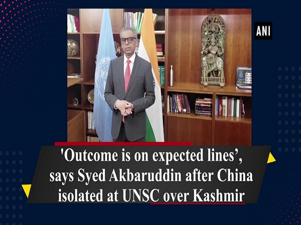 'Outcome is on expected lines', says Syed Akbaruddin after China isolated at UNSC over Kashmir