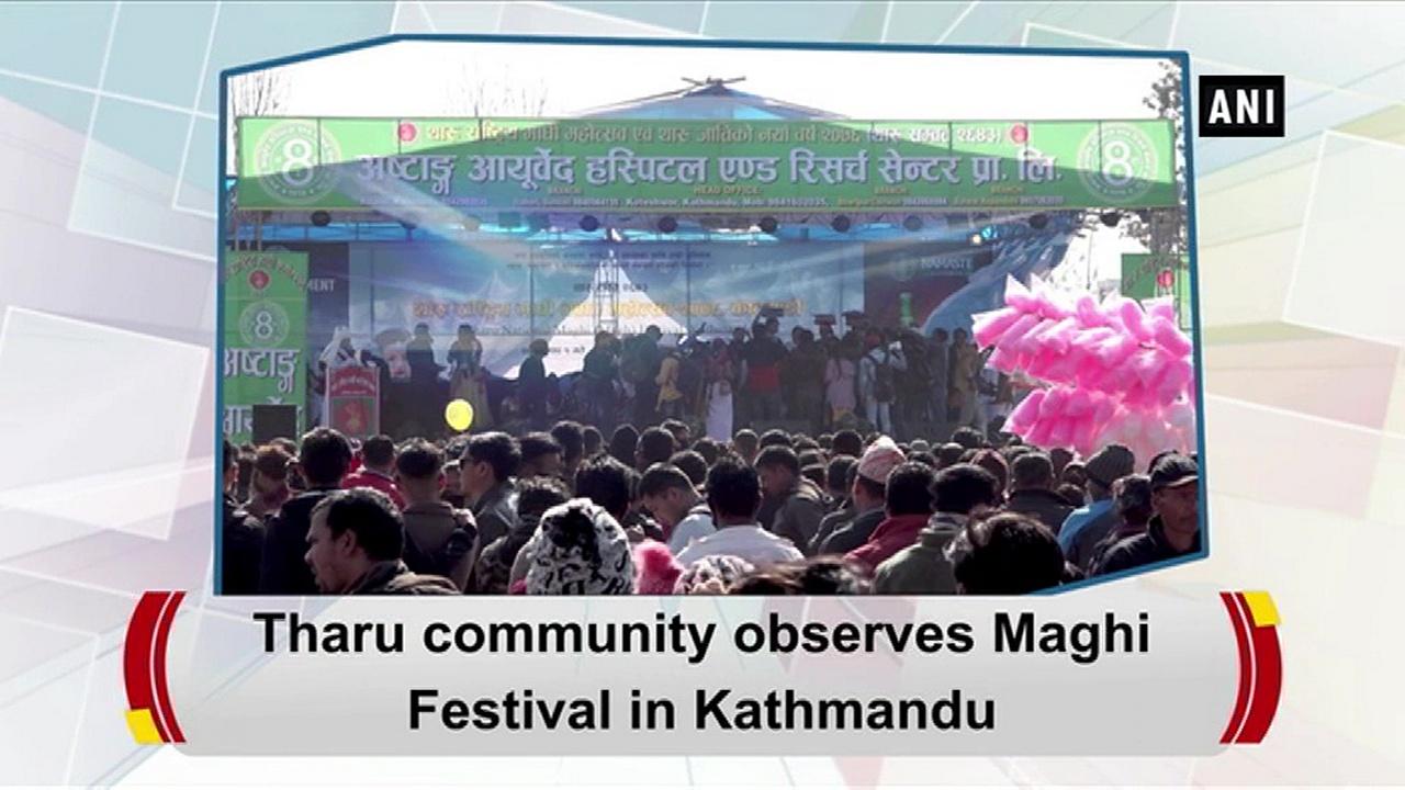 Tharu community observes Maghi Festival in Kathmandu