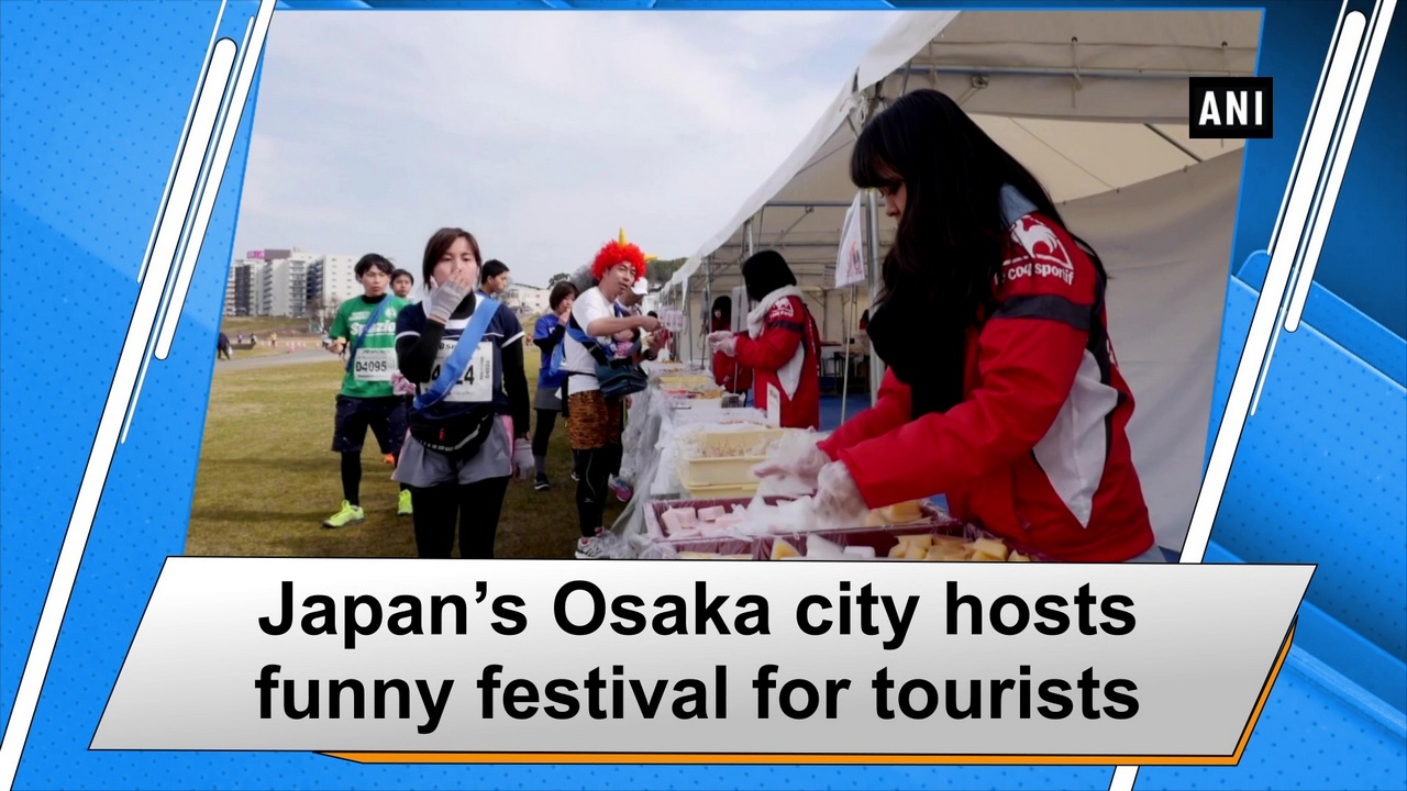 Japan's Osaka city hosts funny festival for tourists