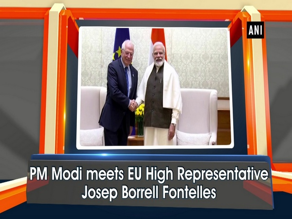 PM Modi meets EU High Representative Josep Borrell Fontelles