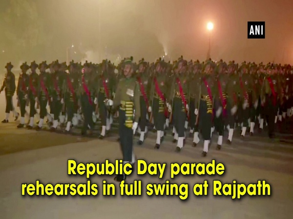 Republic Day parade rehearsals in full swing at Rajpath