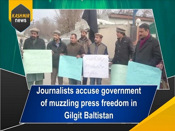 Journalists accuse government of muzzling press freedom in Gilgit Baltistan
