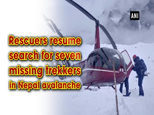 Rescuers resume search for seven missing trekkers in Nepal avalanche