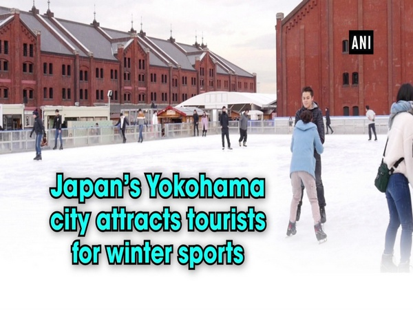 Japan's Yokohama city attracts tourists for winter sports