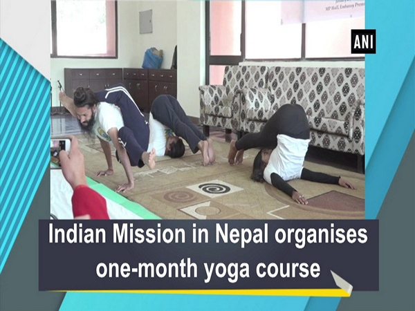 Indian Mission in Nepal organises one-month yoga course