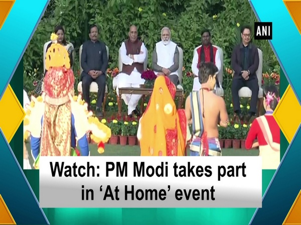 Watch: PM Modi takes part in 'At Home' event