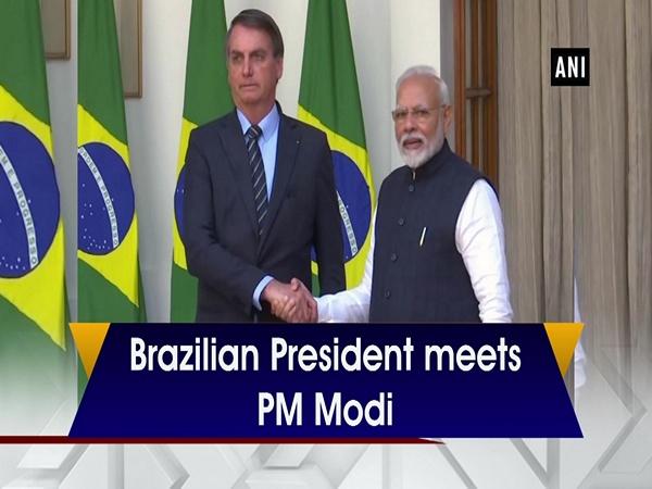 Brazilian President meets PM Modi