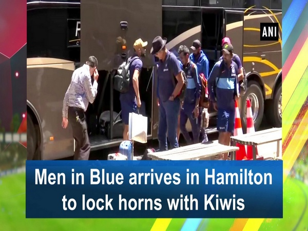 Men in Blue arrives in Hamilton to lock horns with Kiwis