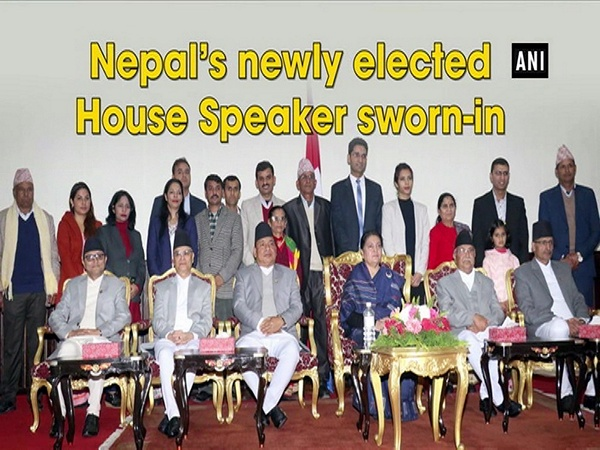 Nepal's newly elected House Speaker sworn-in