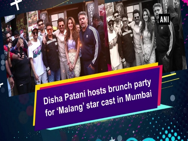 Disha Patani hosts brunch party for 'Malang' star cast in Mumbai
