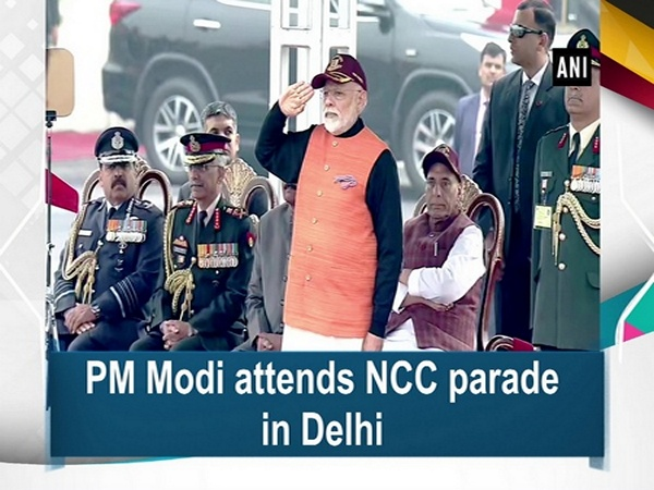 PM Modi attends NCC parade in Delhi
