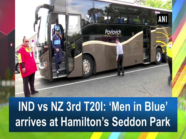 IND vs NZ 3rd T20I: 'Men in Blue' arrives at Hamilton's Seddon Park